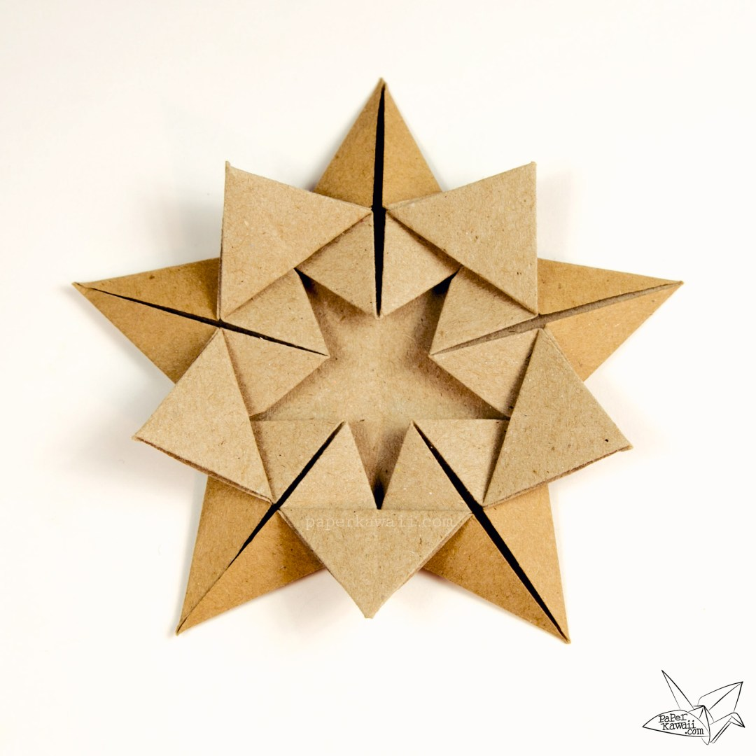 Origami 'Star Within' Tutorial - Ali Bahmani - Paper Kawaii - photo#1