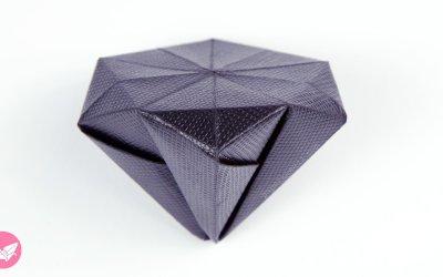 Round Origami Diamond Tutorial