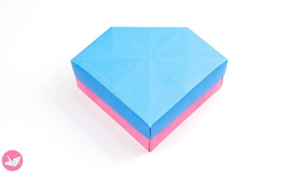 Origami Gem Box & Lid Tutorial (Revised)
