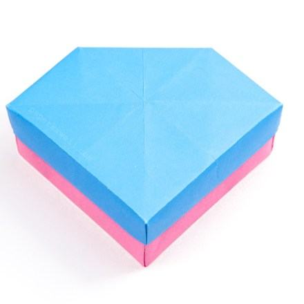 Origami Gem Box & Lid Tutorial (Revised) via @paper_kawaii