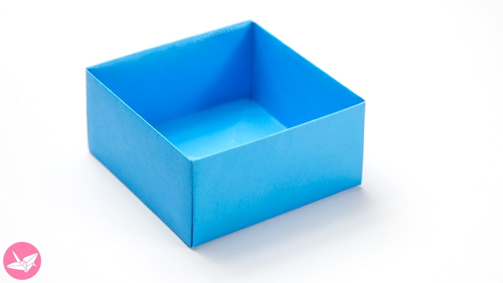 Easy Origami Masu Box Tutorial via @paper_kawaii