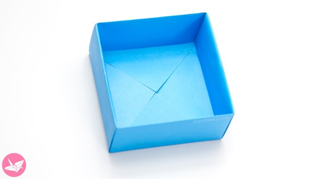 Easy Origami Masu Box Tutorial