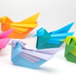 Origami Bird Tutorial – Mandarin or Seagull – Simon Anderson