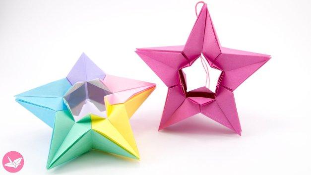 Modular Origami Star Tutorial (Salman Ebrahimi)