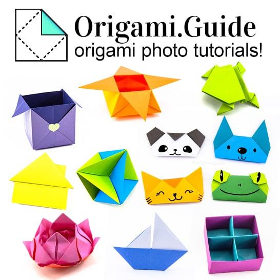 origami guide - photo tutorials