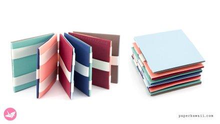 Jacobs Ladder Tutorial – Origami Squares – 2 Methods