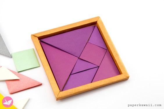 Origami Tangram Puzzle Tutorial – Francis Ow