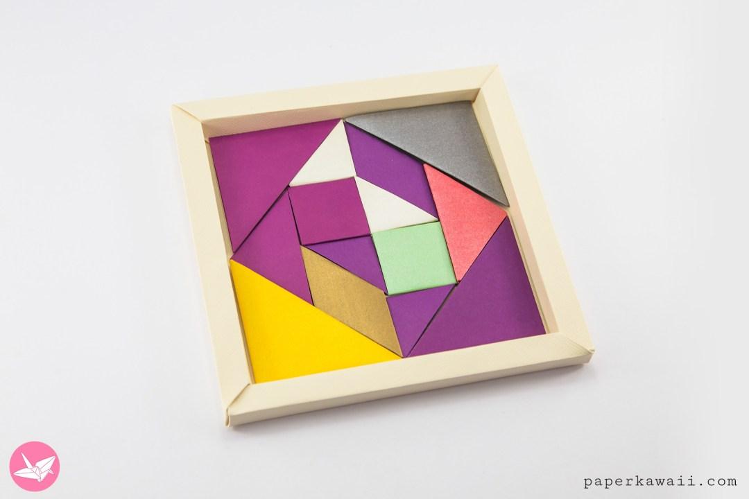 Origami Tangram Puzzle Tutorial Francis Ow Paper Kawaii