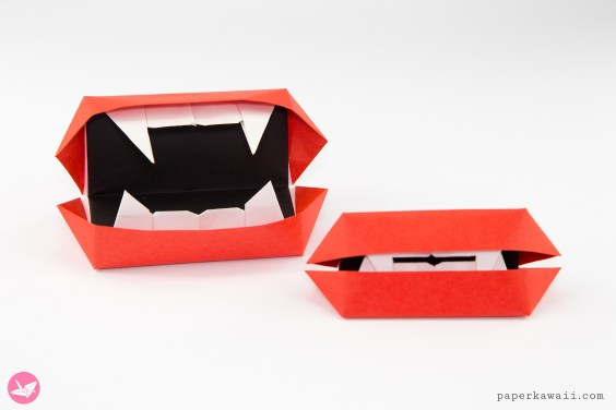 Origami Vampire Mouth Toy Tutorial