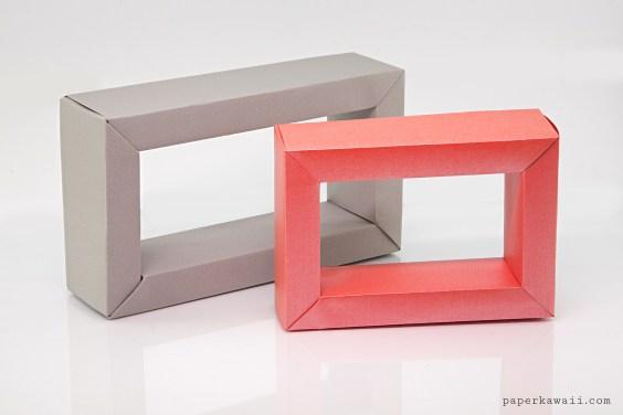 Modular Rectangular Origami Frame Tutorial
