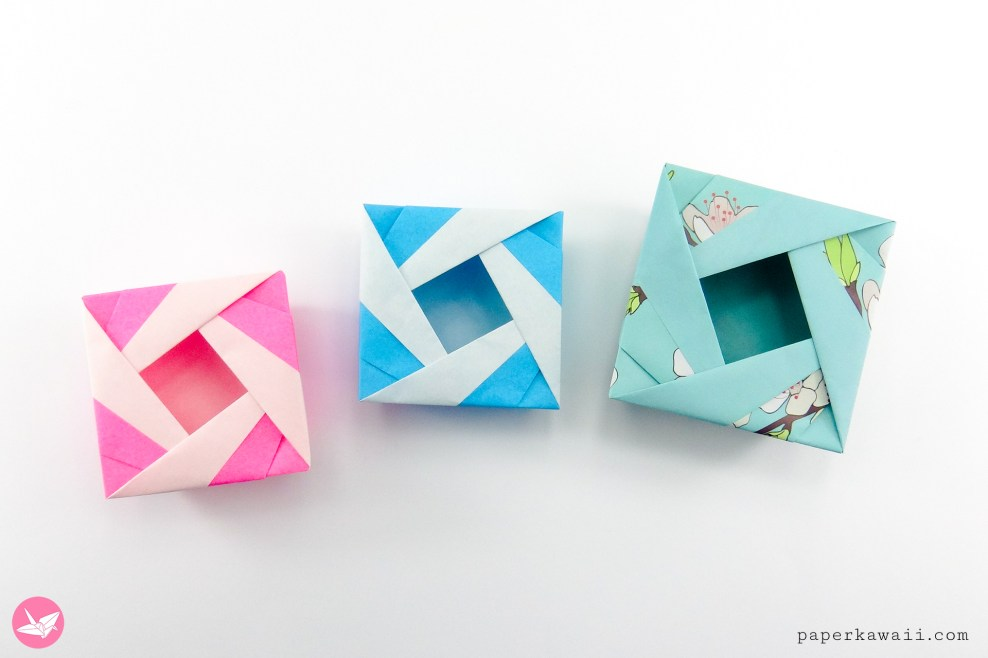 Origami Lady Box Tutorial (José Meeusen) via @paper_kawaii