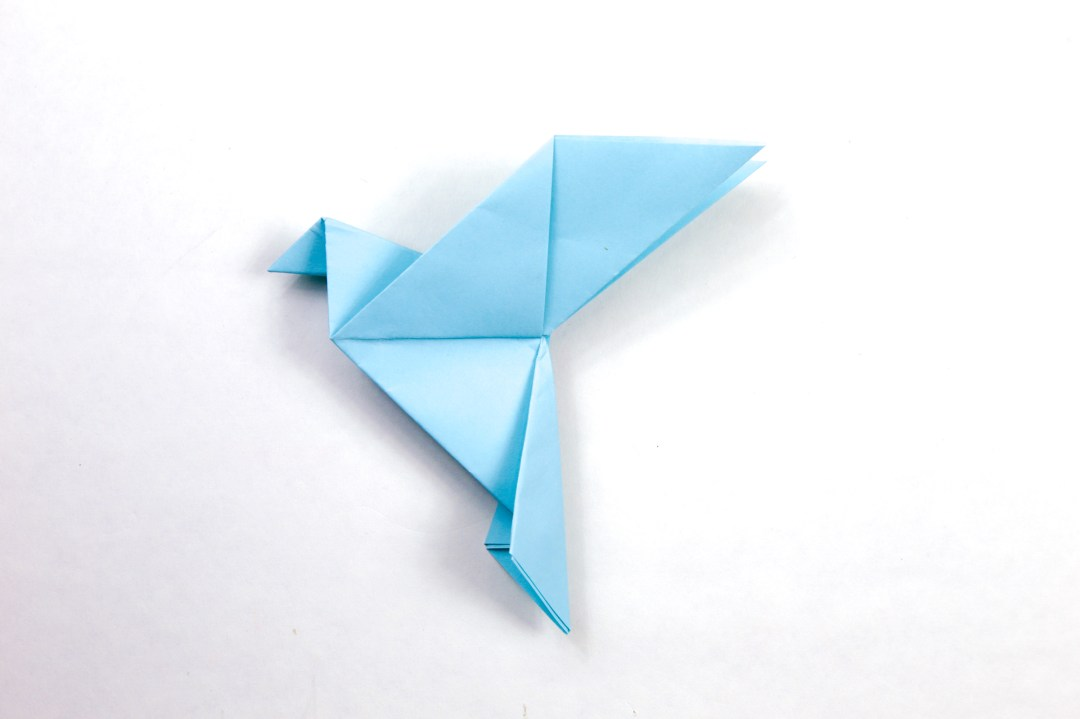 Peace Dove via @paper_kawaii