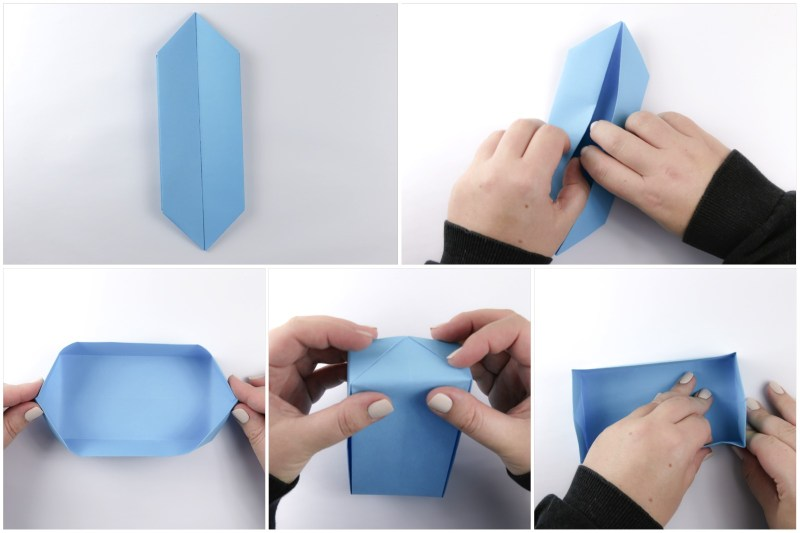 Deep Rectangular Box via @paper_kawaii