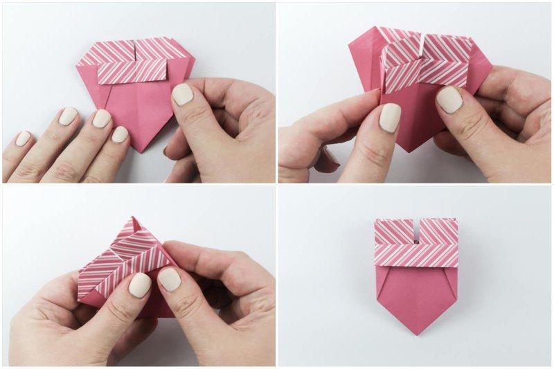 Box With Flaps via @paper_kawaii