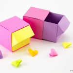 Origami Drawer Box Tutorial