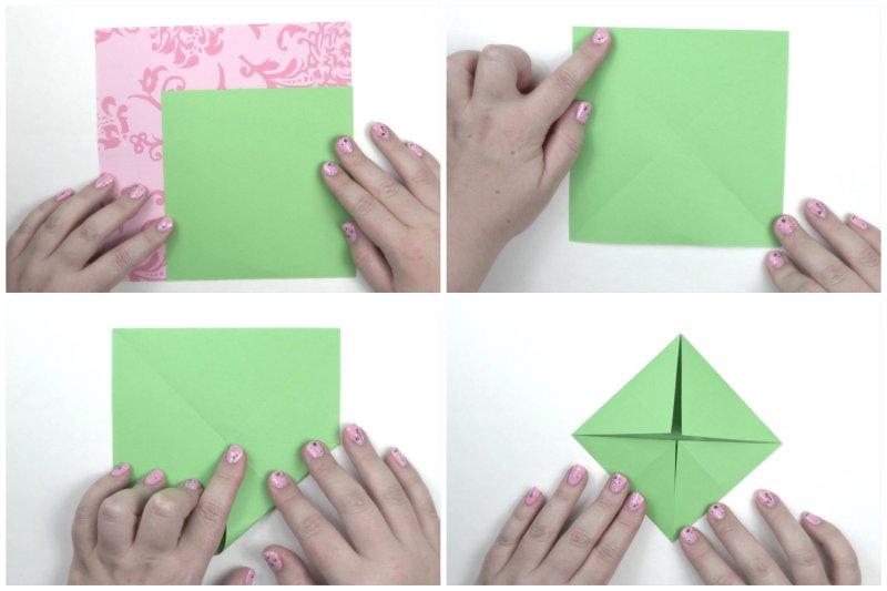 Lotus Flower Leaf via @paper_kawaii