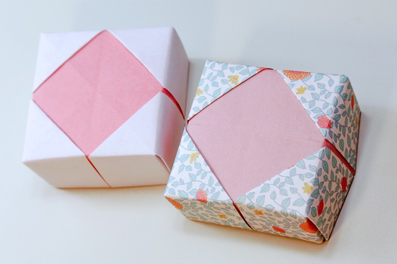 Masu Box Frame Lid via @paper_kawaii