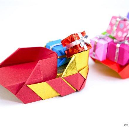 Easy Origami Santa Tutorial! via @paper_kawaii