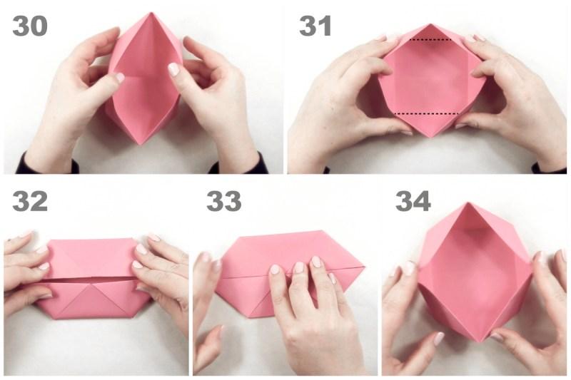 Twisted Box via @paper_kawaii