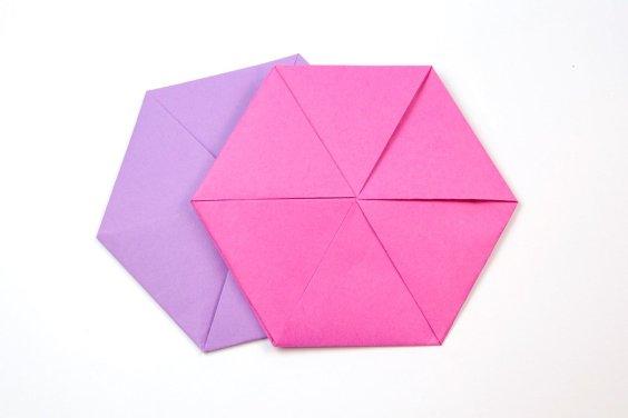 Hexagonal Letterfold