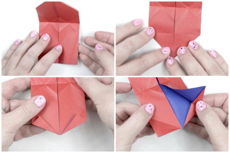 Puffy Heart via @paper_kawaii