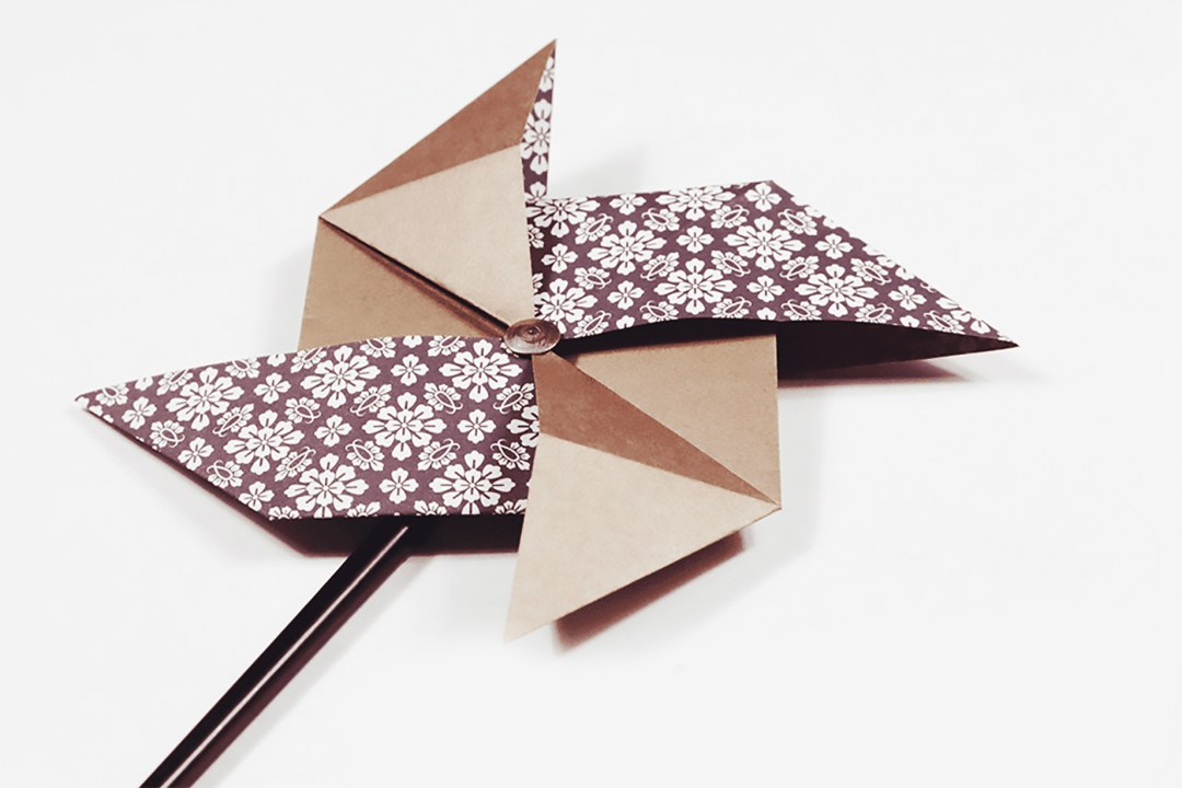 Pinwheel via @paper_kawaii