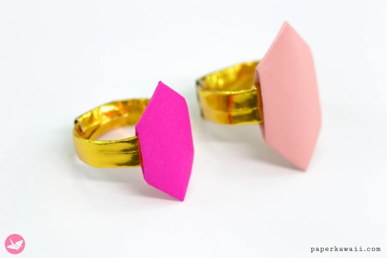 Origami Ring For Valentine's Day