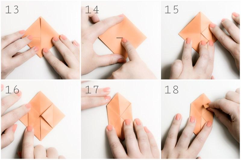 Origami Water Balloon Photo Tutorial - Paper Kawaii | 533x800