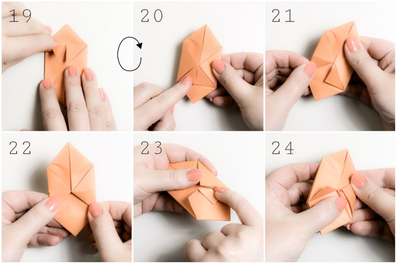 Origami balloon...just the thing to cover white Christmas lights ... | 533x800