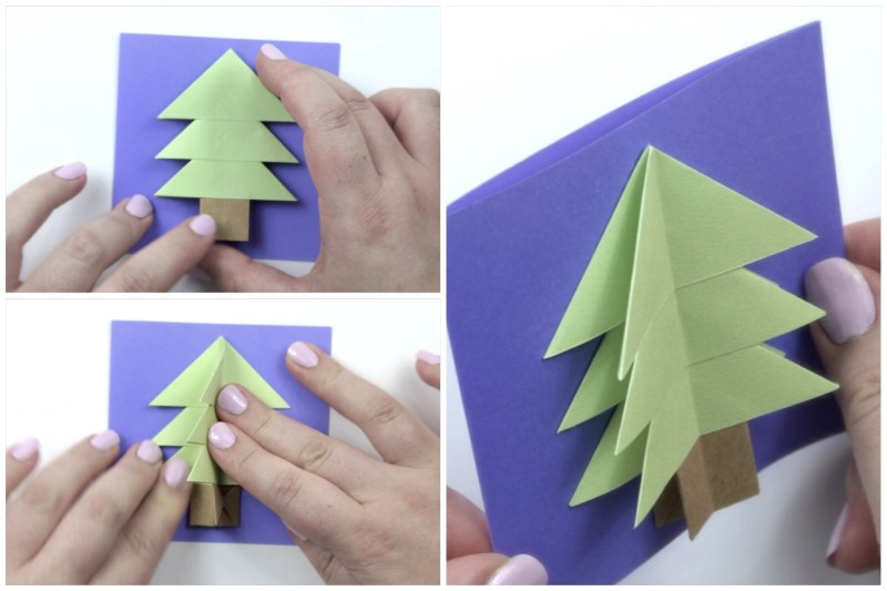 Christmas Tree via @paper_kawaii