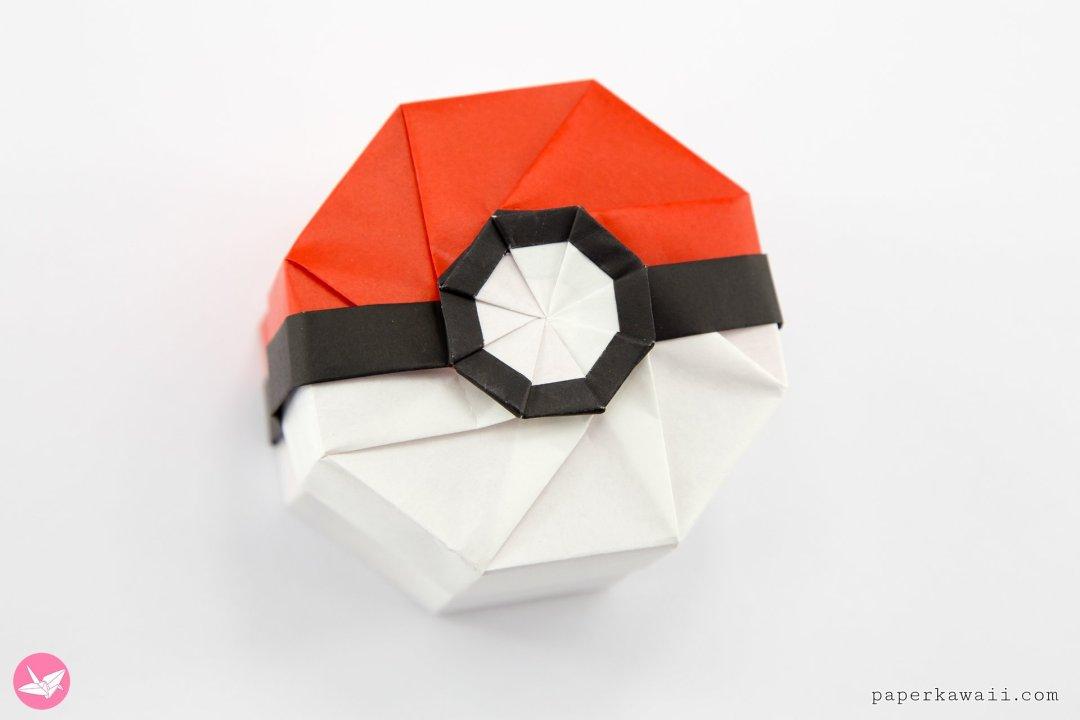 Origami Pokeball that Opens! (no music) - Pokemon Go - YouTube | 720x1080