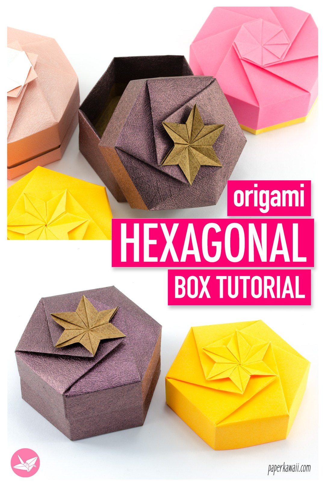 AN EASY PEASY ORIGAMI GIFT BOX (With images) | Origami gifts, Diy ... | 1620x1080