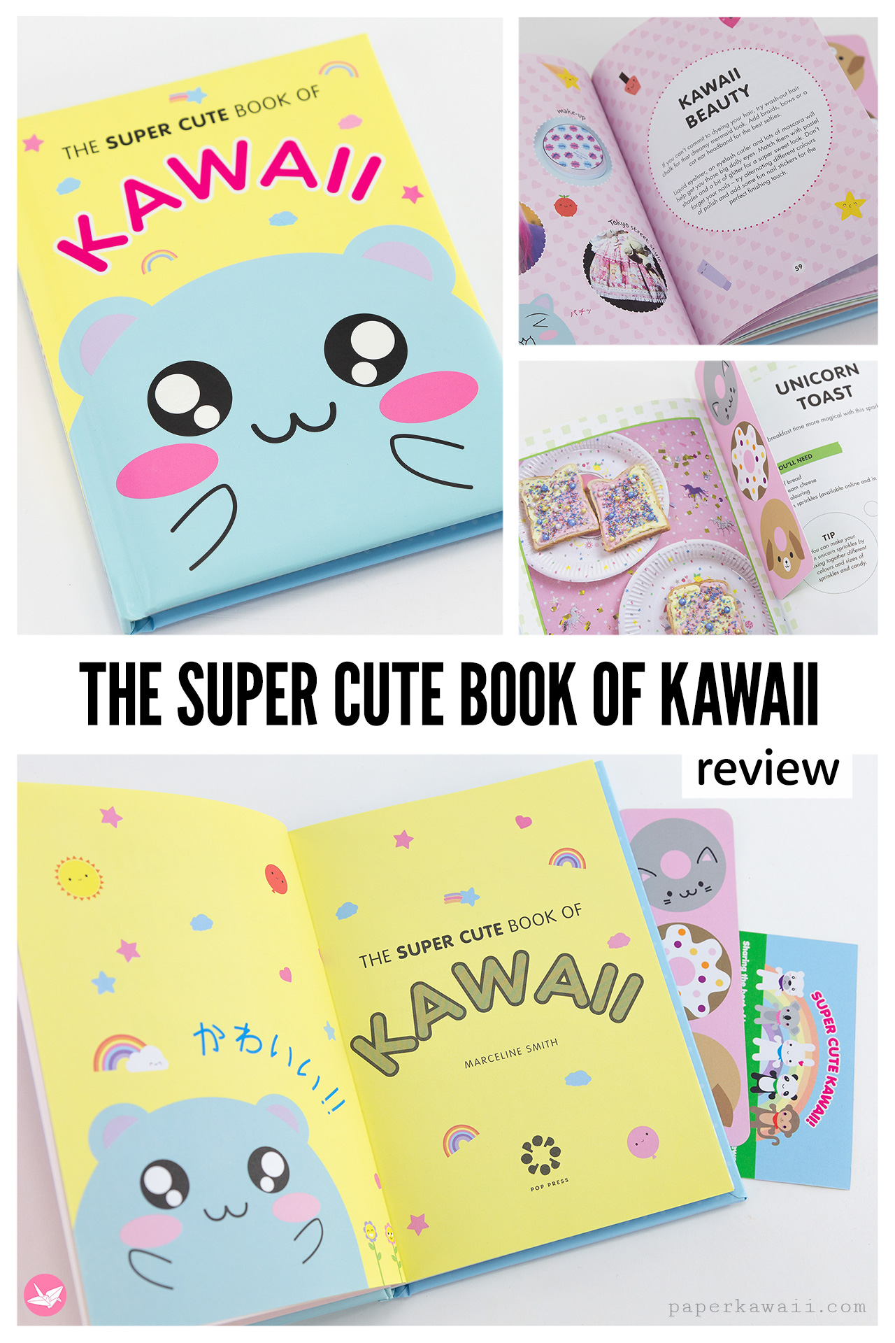 The Super Cute Book Of Kawaii by Marceline Smith Review via @paper_kawaii