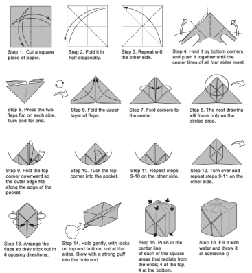 Pikachu Origami Cube - Cute Pokemon via @paper_kawaii