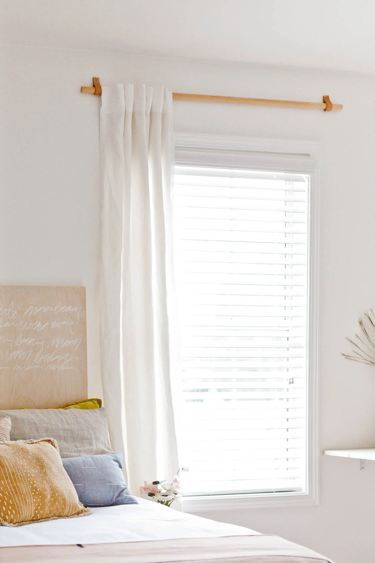 How To Make A Simple Curtain Rod For Less Than 10 Paper