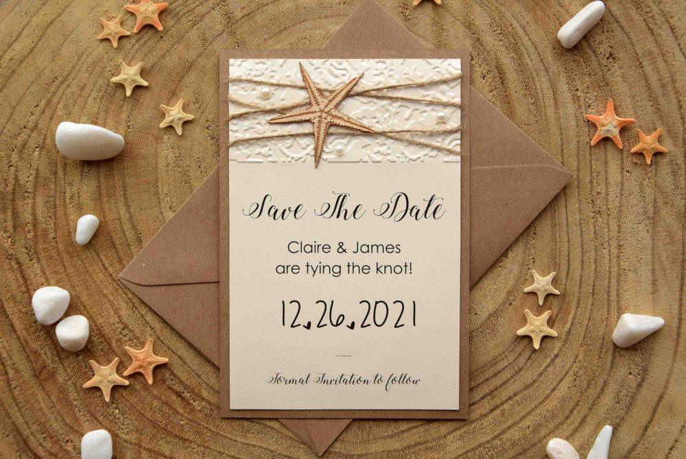 Tropical Wedding Save The Dates