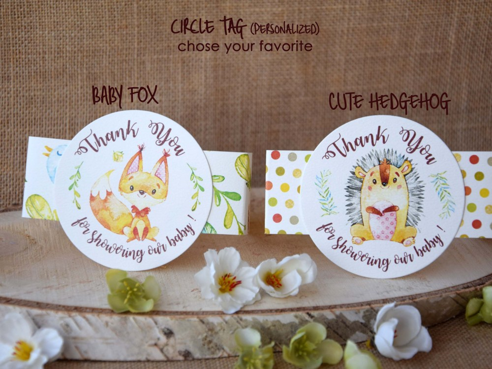 Personalized Baby Shower Favor Boxes