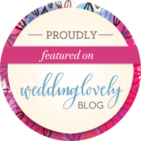 Featured by Wedding Lovely