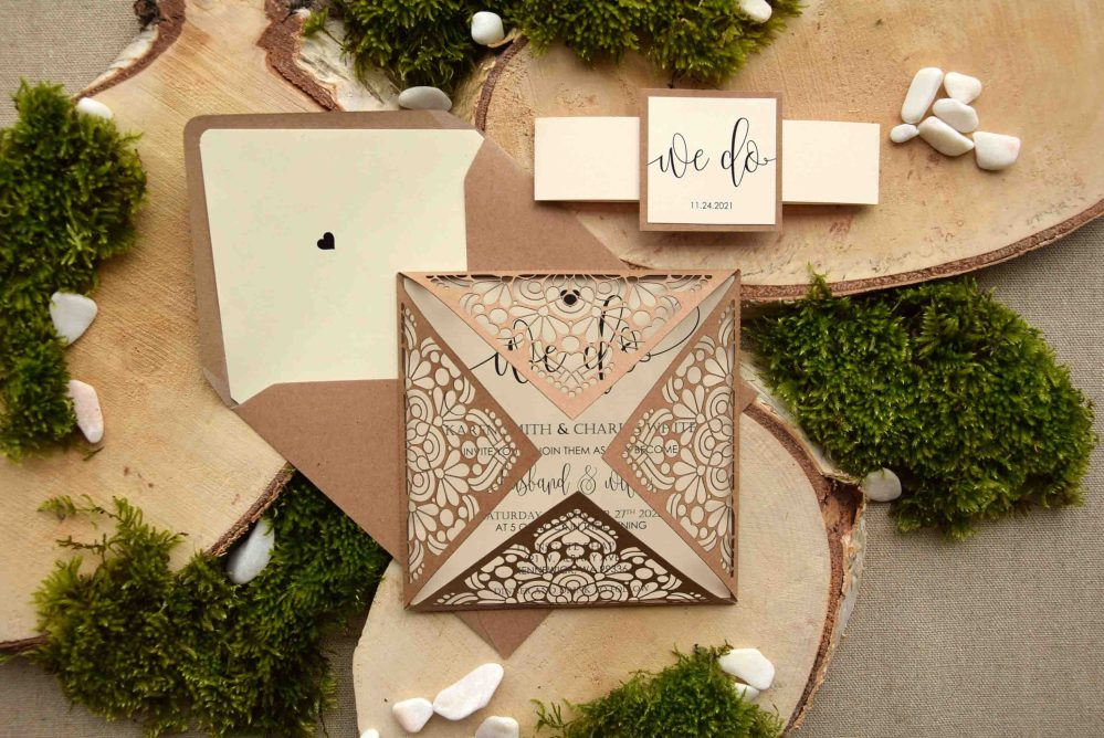 We Do Laser Cut Wedding Invitations