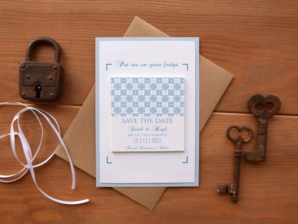 Tile Magnet Save The Dates