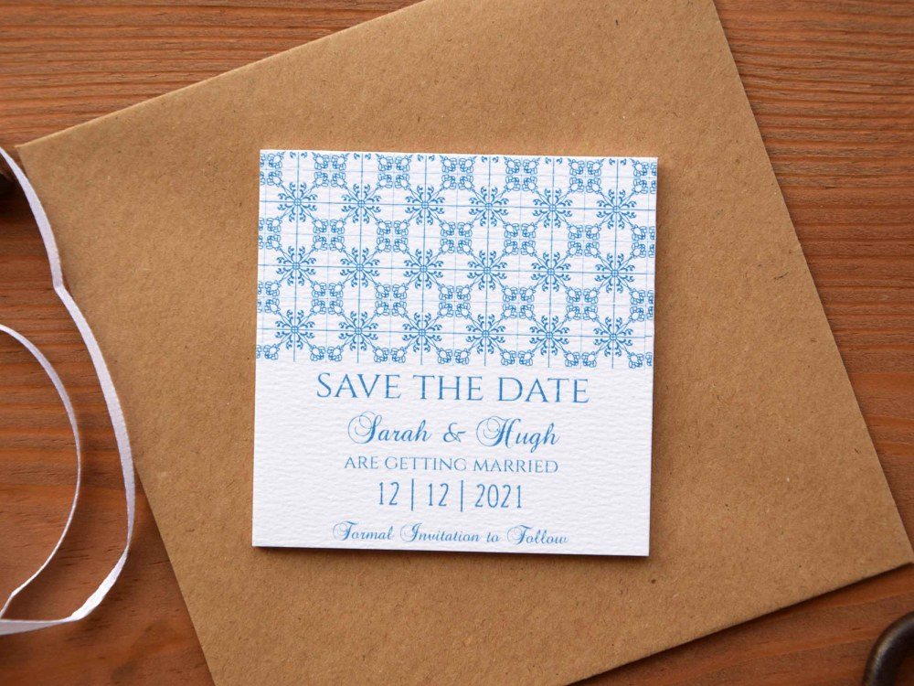 Magnet Tile Save The Dates