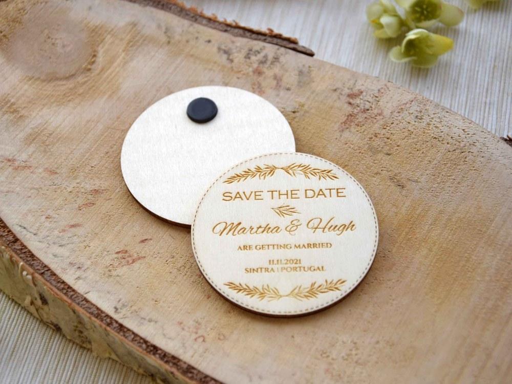Rustic Destination Save the Dates