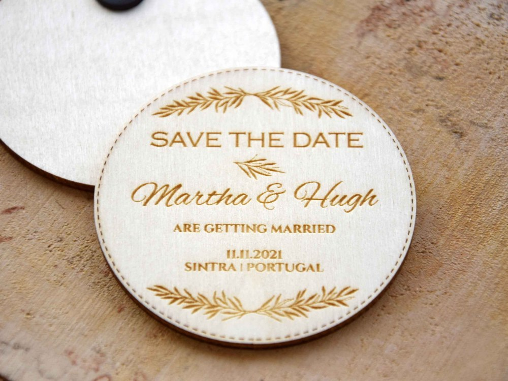 Rustic Destination Save the Dates