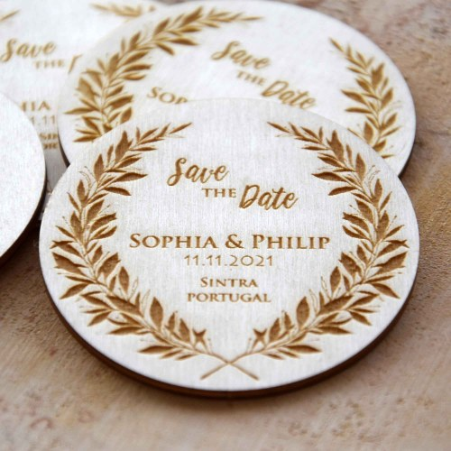 Unique Custom Save the Date Magnets
