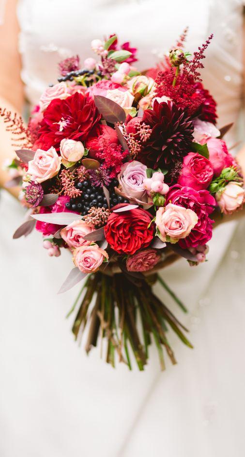Colourful Wedding Bouquet - Wedding Flower Checklist