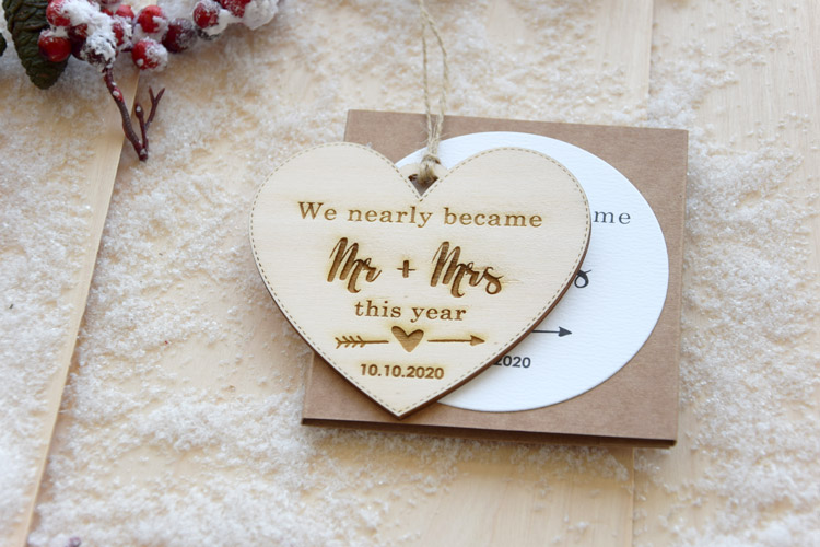 """We nearly became"" Christmas Tree Ornament"