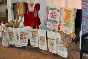 flour sacks Ellen Hamill