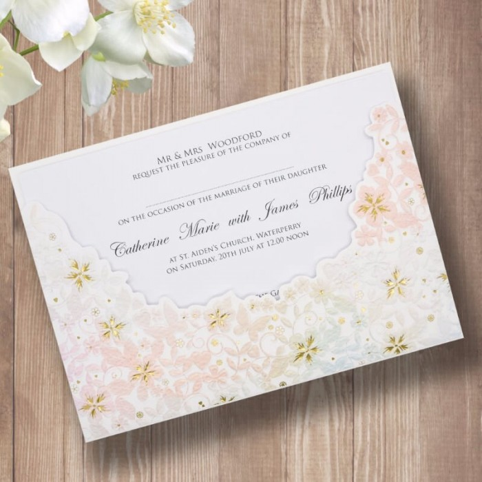 Paper Themes Wedding Invitations