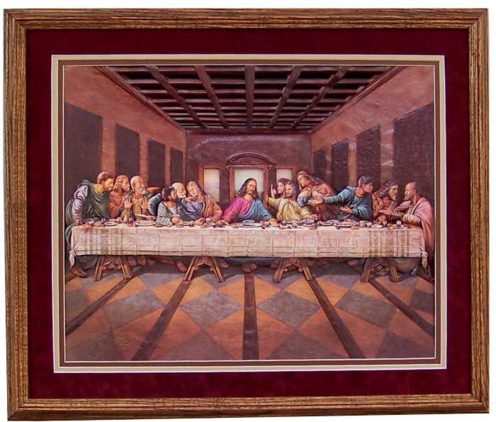 Last Supper Art Print Size 16x20 16 2000