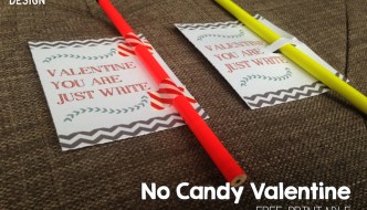Free Printable Pencil Valentine